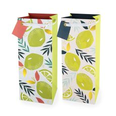 Assorted Lemon & Lime 1.5L Bottle Bag By Cakewalk