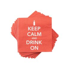 Keep Calm Napkin by Cakewalk