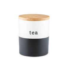 Chalkboard Dipped Tea Canister by Pinky Up