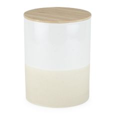 Pantry: Clay & Ceramic Large Canister by Twine