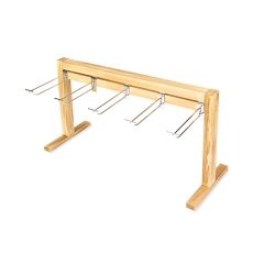Marketplace: Wood Counter Display Rack