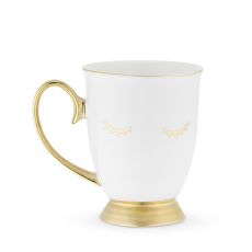 Holly White Lash Mug by Pinky Up