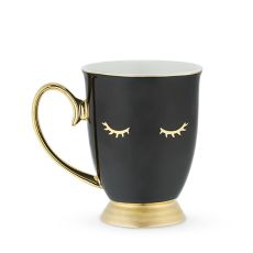 Holly Black Lash Mug by Pinky Up