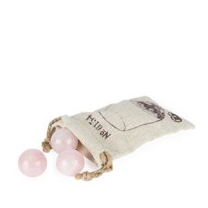 Rose Quartz Wine Gems Set of 6 by Twine