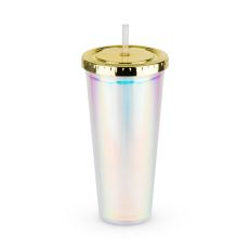 Iridescent Drink Tumbler by Blush