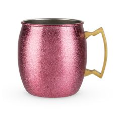 Comet: Pink Glitter Moscow Mule by Blush
