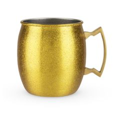 Comet: Gold Glitter Moscow Mule by Blush