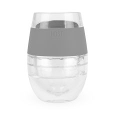 Wine FREEZE Cooling Cup in Grey (1 pack) by HOST