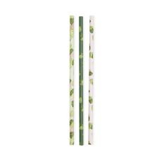 Assorted Monstera Straws