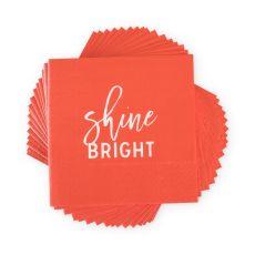Shine Bright Cocktail Napkin by Cakewalk