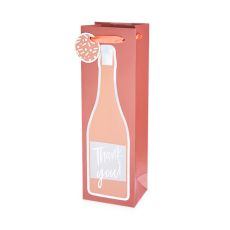 Thank You! Single-bottle Wine Bag by Cakewalk