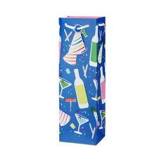 Birthday Drink Single-Bottle Wine Bag by Cakewalk
