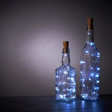 Cool White Bottle String Lights - Set of 2 by True