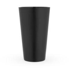 Matte Black Pint Glass by True