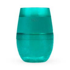 Wine FREEZE Cooling Cup in Translucent Green