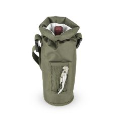 Grab & Go Insulated Bottle Carrier in Olive by True
