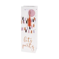 Let's Party Single-Bottle Wine Bag