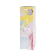 Oh Happy Day Single-Bottle Wine Bag by Cakewalk