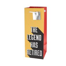 The Legend Has Retired 1.5L Bag by Cakewalk
