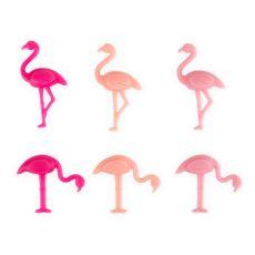 Flamingo Drink Charms by TrueZoo