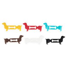 Doggone Dachshund Wine Glass Markers by True