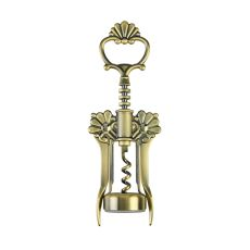 Brushed Brass Filigree Winged Corkscrew by Twine