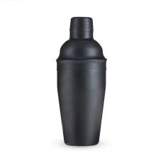 Ash: 18-Ounce Matte Black Cocktail Shaker by True