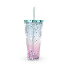 Mermaid Glitter Drink Tumbler by Blush