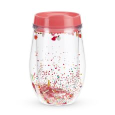 Sprinkles Stemless Wine Tumbler by Blush