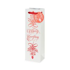 Merry Everything Single-Bottle Wine Bag by Cakewalk