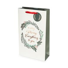 Merry Everything Double-Bottle Wine Bag by Cakewalk