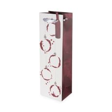 Wine Stain Ornament Single-Bottle Wine Bag by Cakewalk