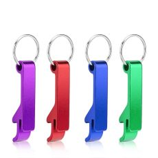 Assorted Key Chain Bottle Openers by True - 4 Colors