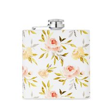 6 oz Rose Flask by Twine
