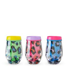Assorted Electric Stemless Wine Tumbler by Blush