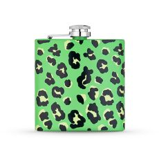 Green Electric Animal Stainless Steel Flask by Blush