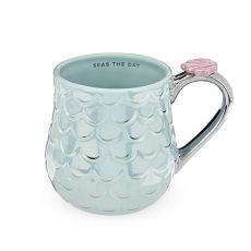 Mermaid Blue Mug by Pinky Up