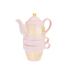 Taylor Casablanca Pink Tea for Two by Pinky Up