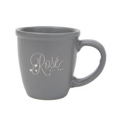 Morning Mug, Charcoal, Rose All Day