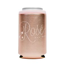 Rose All Day Metallic Can Sleeve