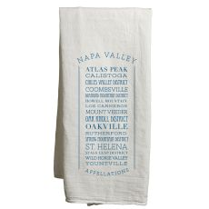 Napa White Tea Towel Appellations