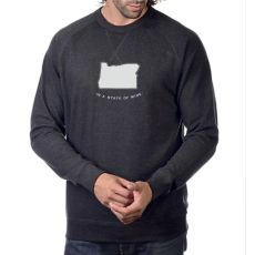 CH M2430 French Terry Crew Neck Long Sleeve U