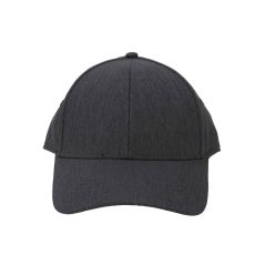 Heather Linen Charcoal Cap