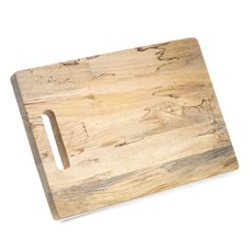 Rectangular 18 X 125 Cheese and Charcuterie Board Made of Fruit Wood From a Mango Tree