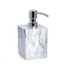 Marble Bath Soap Dispenser in Cloud Grey