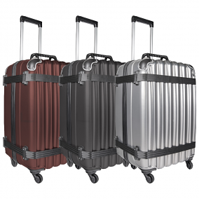 VinGardeValise Grande 05 Rolling Wine Luggage for Airplane Travel