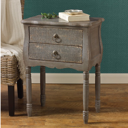 Accent Table - Aged Gray