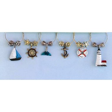 Ahoy! Wine Charms