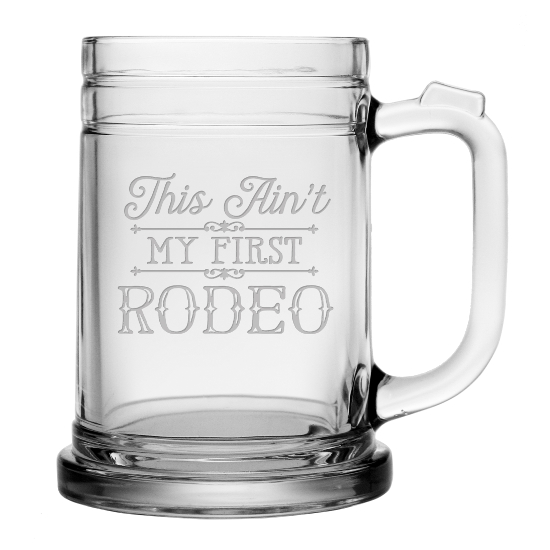 This Aint My First Rodeo Beer Mugs (set of 4)