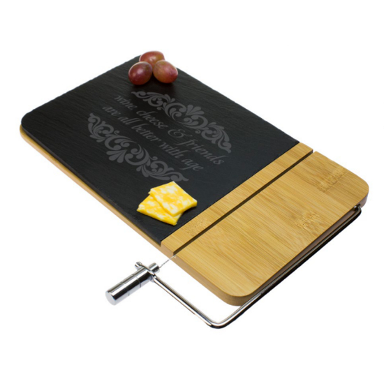 All Better With Age Cheese Board with Slicer